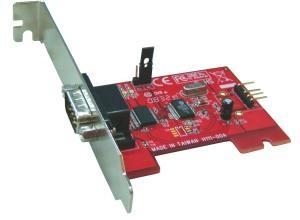 China USB 2.0 IO-111 RS232 Low Profile USB-Based Host Adapter (with DB9M 5V Bus Power) on sale