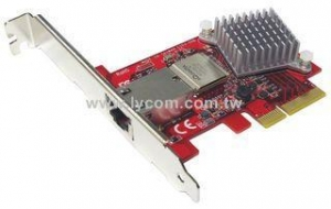 China Giga LAN NW-103  10G/5G/2.5G NBase-T RJ-45 PCIe x4 Low Profile Network Adapter on sale