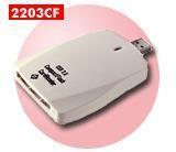China USB 2.0 KW-2203CF CF Card Reader (USB 2.0 on sale