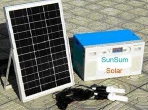 China Solar Home System Products  Solar Home System 50W on sale
