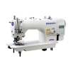 China Computer Single Needle Lockstitch Sewing Machine with Edge Cutter for sale