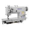 China High Speed Doulbe Needle Lockstitch Sewing Machine with Split Needle Bar for sale