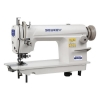 China High Speed Single Needle Lockstitch Sewing Machine with Edge Cutter for sale