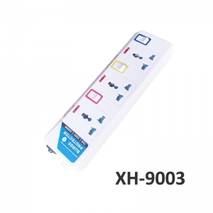 China 3 outlets Universal type surge protector extension socket XH-9003 on sale