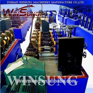 China guangdong high quality ss pipe making machine on sale