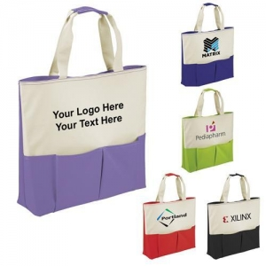 China Canvas Tote Bags Personalized Parker Utility Tote Bags on sale