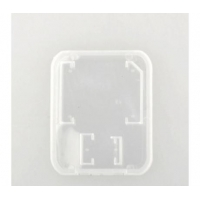 SD Card Micro SD Plastic case with Adapter Slot
