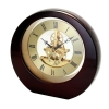 China Awards 10-5388M Interactive Gear Clock, Mahogany for sale