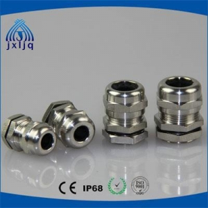 China Stainless Steel Cable Gland Waterproof Stainless steel Metric thread cable glands on sale