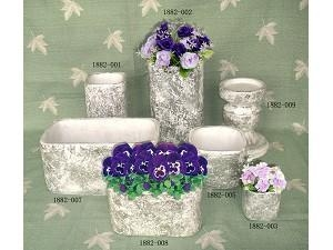 China Cement Flower Pot on sale