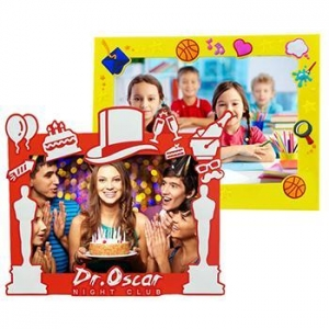 China Colorful Design Silicon Photo Picture Frame on sale