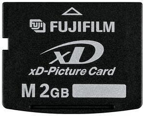 China HS-Fuji 2 GB xD Picture Card Type M Memory Card on sale