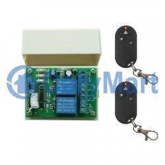 China Wireless DC 6V 9V 12V 24V Motor Remote Controller With Restrictive Function Remote on sale