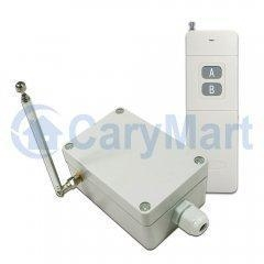 China 2000M 1CH Long Range DC 30A High Power Relay Output Wireless Remote Control Set on sale