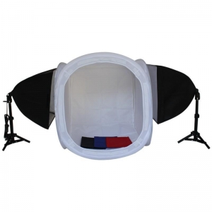 China studio lighting kit Softlight Round Tent/Cube Softbox Photo Studio Lig on sale