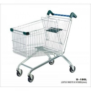 China Shopping trolley Heavy duty supermarket trolley on sale