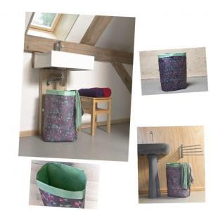 China Triangles Custom Tyvek Storage Mesh Laundry Bag on sale
