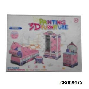 China Girl Toys DIY Bobbi furniture puzzle toy on sale