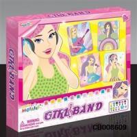 Girl Toys DIY Band girl Suit