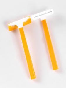 China Plastic single blade disposable shaving medical razor on sale