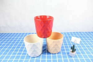 China Color Glazed Ceramic Flower Pot on sale