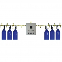 China Medical Gas Manifold A-5400 Serices Semi AutoMatic Manifold System on sale