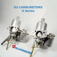 SU H Series Carburetors Complete Rebuild per pair