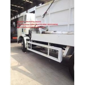 China SINOTRUK HOWO Swing Arm Garbage Collection Truck on sale