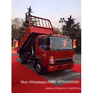 China 180hp Four Cylinder Light Duty Commercial Trucks on sale