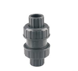 China PVC Plumbing Series PVC Double union Check Valve on sale