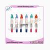 China VIBRATORS AL-3410 PVC Colourful Vibrators for sale