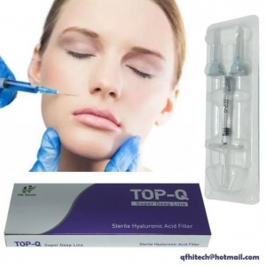China New Top-Q Hyaluronic Acid Dermal Filler Supper Deep Line Anti Wrinkle 1/2ml for Face or Nose on sale