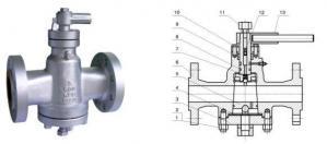 China Inverted Pressure Balance Lubricated Plug Valve on sale