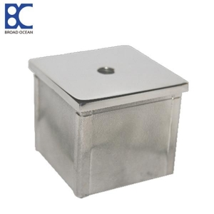 China stainless square steel tubing end cap square steel tubing end cap on sale