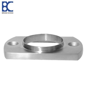 China Stainless steel fence post base plate flange manufacturer on sale