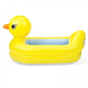 China Baby Swim Inflatable animal duck design swim bathtub for baby spa on sale