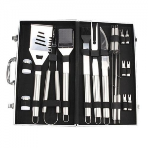 China Housewares BBQ Tools Set, Stainless Steel Barbecue Grilling Utensils on sale