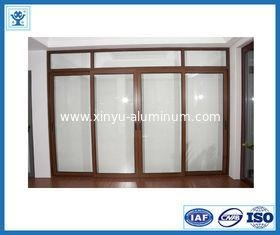 China Heat-Insulation Bridge-Cut-off Aluminium Casement Doors with As2047 on sale