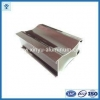 China New! wood finish aluminum powder coated profile for architectural, aluminium profile for sale