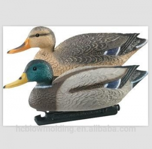 China High Quality Vivid PE Plastic Mallard Duck Decoys for HuntingTrue adventure outdoor Wild duck on sale