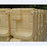 Plastic hdpe floating dock pontoon cube,water case.