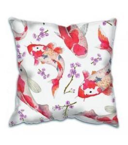 China Cushion Linen Cotton Fabric White Plain Dyed Chair Pillow Sofa Cushion Cover on sale