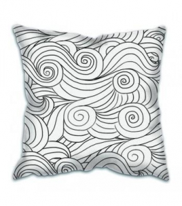 China Comfortable 18 Inch Customized Cover Sofa Decorative Throw Pillow,Plain Cotton Throw Pillow Cover on sale