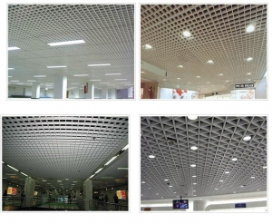 China Suspended ceiling steel grid plate on sale