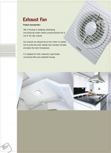 China Light Switch Exhaust Fan on sale