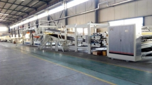 China Corrugated Carton Box Making Machine-WJ200-1800-Ⅰ3 Ply on sale