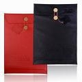 China Folder Envelope Briefcase Leather Sleeve Bag for 11.6-inch Macbook Air on sale