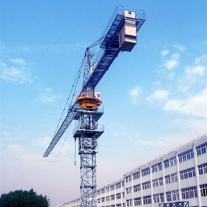 China Flat head Tower Crane QTZ80P(6010) tower crane autocad drawing free download on sale