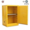 China Chemical Storage Cabinet Fire Resistant Yellow Safety Mobile Storage Cabinet Flame for sale