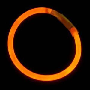 China Glow Items Orange Glow Bracelet on sale